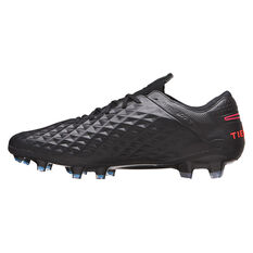 Nike Tiempo Legend VIII Elite Football Boots Black US Mens 4 / Womens 5.5, Black, rebel_hi-res