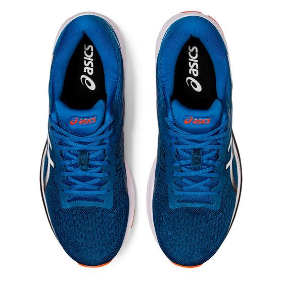 Asics GT 1000 10 2E Mens Running Shoes, Blue/Black, rebel_hi-res