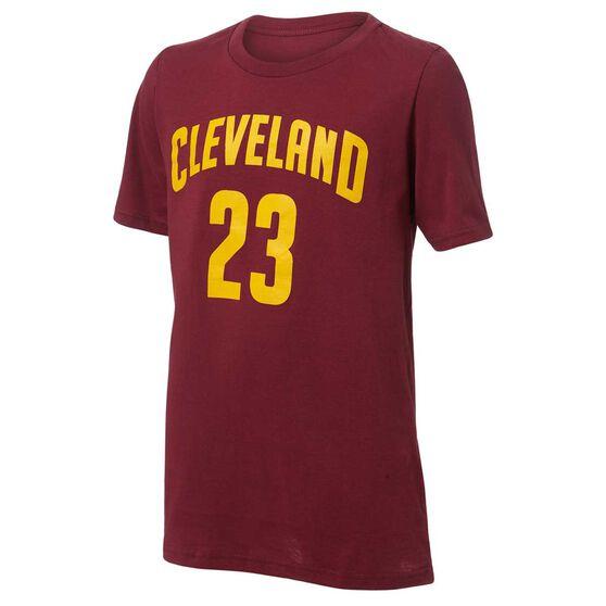 Outerstuff Kids Cleveland Cavaliers LeBron James Jersey Tee, , rebel_hi-res
