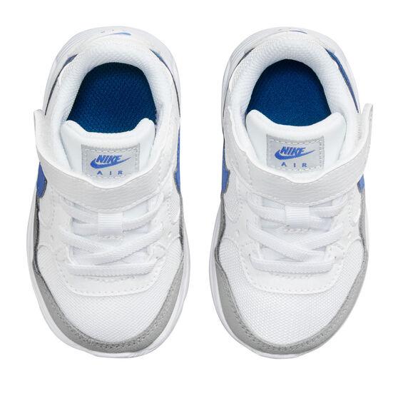 Nike Air Max SC Toddlers Shoes, White/Blue, rebel_hi-res