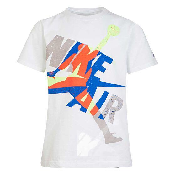 Nike Boys Jordan Jumpman Classic Tee, White, rebel_hi-res