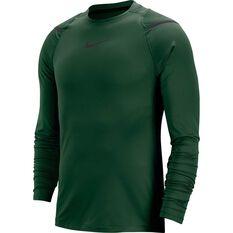 Nike Mens Pro AeroAdapt Long-Sleeve Training Top Green S, Green, rebel_hi-res