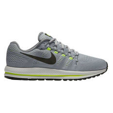 Nike Air Zoom Vomero 12 Mens Running Shoes Grey / Black US 7.5, Grey / Black, rebel_hi-res