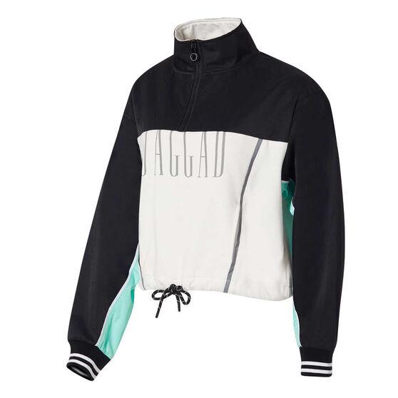 Jaggad Womens Fairmont Zip Up Sweatshirt, , rebel_hi-res