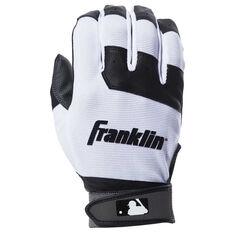 Franklin Flex Youth Batting Glove White L, White, rebel_hi-res