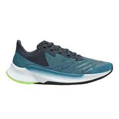 New Balance FuelCell Prism Kids Running Shoes Teal US 4, Teal, rebel_hi-res