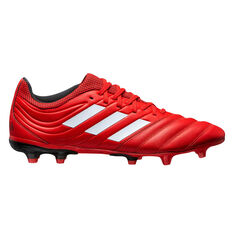 adidas Copa 20.3 Football Boots Red / White US Mens 5 / Womens 6, Red / White, rebel_hi-res