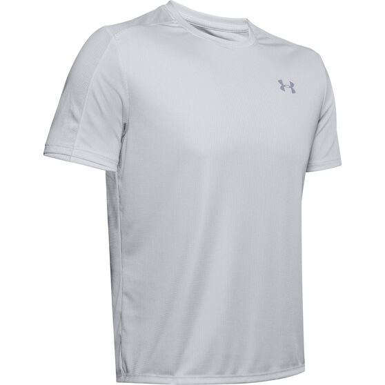 Under Armour Speed Stride Tee Grey S, Grey, rebel_hi-res
