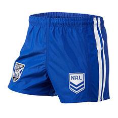 Canterbury-Bankstown Bulldogs Mens Home Supporter Shorts, Blue, rebel_hi-res