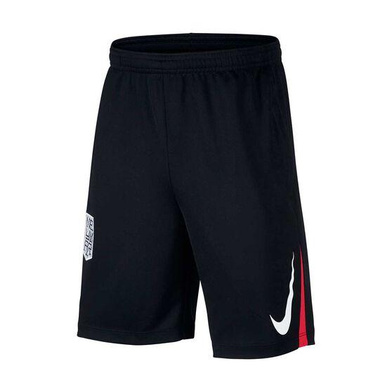 Nike Boys Neymar Jr. Soccer Shorts, Black / Red, rebel_hi-res