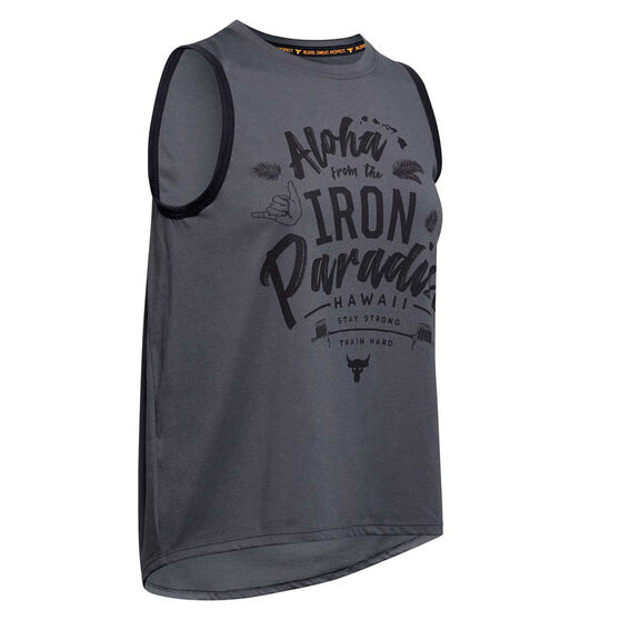 Under Armour Womens Project Rock Aloha Tank, , rebel_hi-res