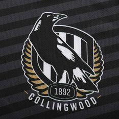 Collingwood Magpies 2020 Mens Training Tee, Black, rebel_hi-res