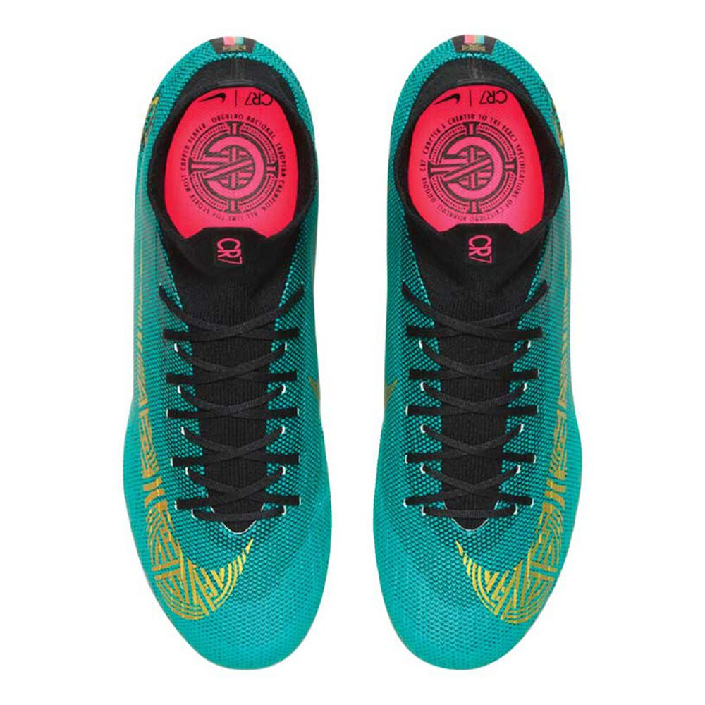 the best attitude 79690 90072 Nike Superfly VI Pro CR7 Mens Football Boots Green   Gold US 7 Adult, Green