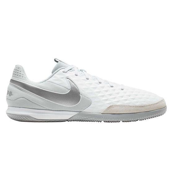 Nike Tiempo Legend VIII Academy Indoor Soccer Shoes, White, rebel_hi-res