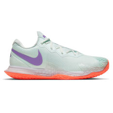 Nike Air Zoom Vapor Cage 4 RAFA Mens Tennis Shoes Green/White US 7, Green/White, rebel_hi-res