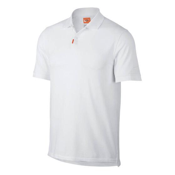 Nike Unisex Polo, White, rebel_hi-res
