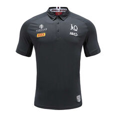 QLD Maroons State of Origin 2020 Mens Performance Polo, Grey, rebel_hi-res