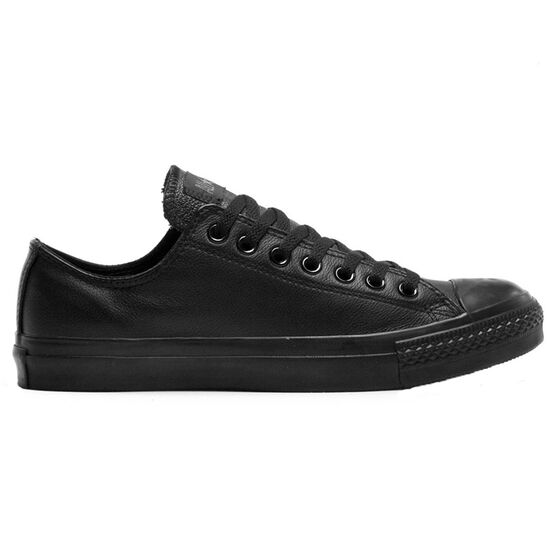 be3f2c87d0f239 Converse Chuck Taylor All Star Leather Low Casual Shoes Black   Black US 13
