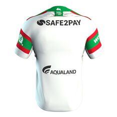 South Sydney Rabbitohs Nines 2020 Mens Jersey White S, White, rebel_hi-res