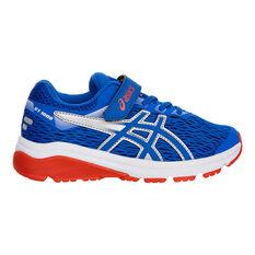 Asics GT 1000 7 Kids Running Shoes Blue US 11, Blue, rebel_hi-res