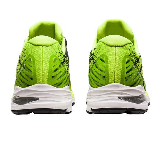 Asics GEL Ziruss 4 Mens Running Shoes, Black/Green, rebel_hi-res