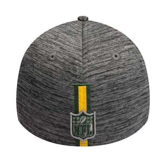 Green Bay Packers 2019 New Era 39THIRTY Training Cap, Grey, rebel_hi-res