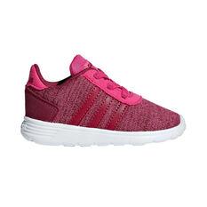 adidas Lite Racer TD Kids Running Shoes Red US 4, , rebel_hi-res
