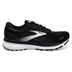 Brooks Ghost 13 Mens Running Shoes Black/White US 8, Black/White, rebel_hi-res