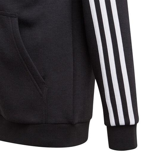 Adidas Boys VF Essential 3s FZ Hoodie, Black, rebel_hi-res