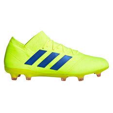 adidas Nemeziz 18.1 Mens Football Boots Yellow / Blue US 7, Yellow / Blue, rebel_hi-res