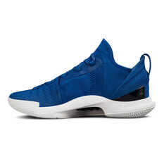 Under Armour Curry 5 Mens Basketball Shoes Blue US 7, Blue, rebel_hi-res