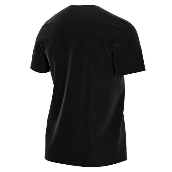 NikeCourt Mens Tennis Tee Black M, Black, rebel_hi-res