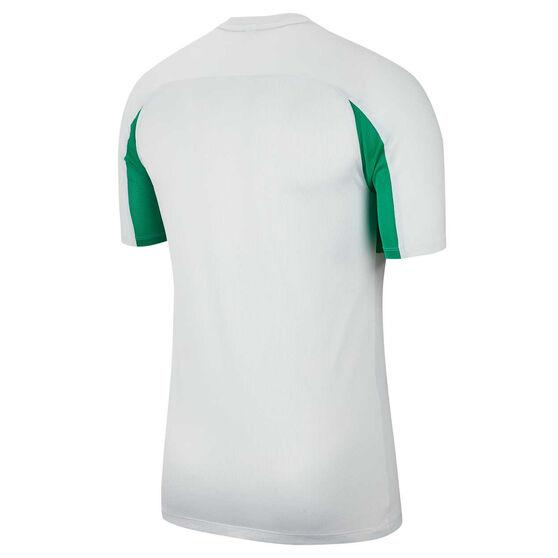 Nike Mens Dri FIT Academy Soccer Tee White M, White, rebel_hi-res