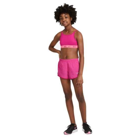 Nike Girls Dry Tempo Shorts, Pink, rebel_hi-res