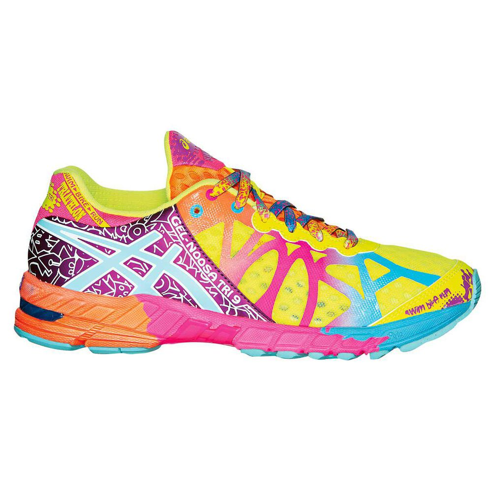 ea1f4888aa9 Asics Gel Noosa Tri 9 Womens Running Shoes Yellow US 7