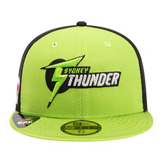 Sydney Thunder New Era 59FIFTY Home Cap Green 7 1 / 4in, Green, rebel_hi-res