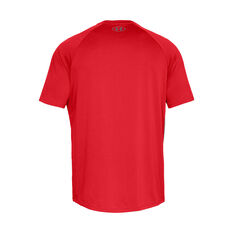 Under Armour Mens Tech Tee Red XS, Red, rebel_hi-res