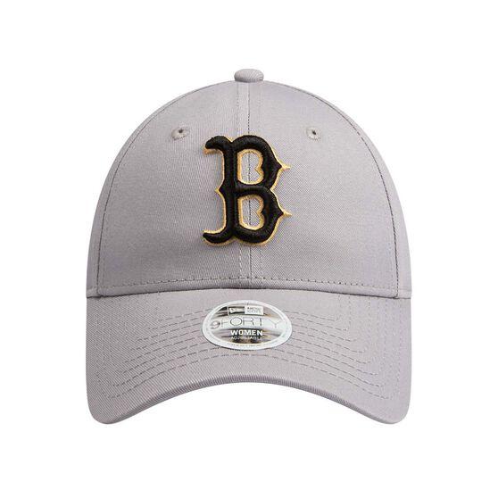 Boston Red Sox Womens New Era 9FORTY Gold Cap, , rebel_hi-res