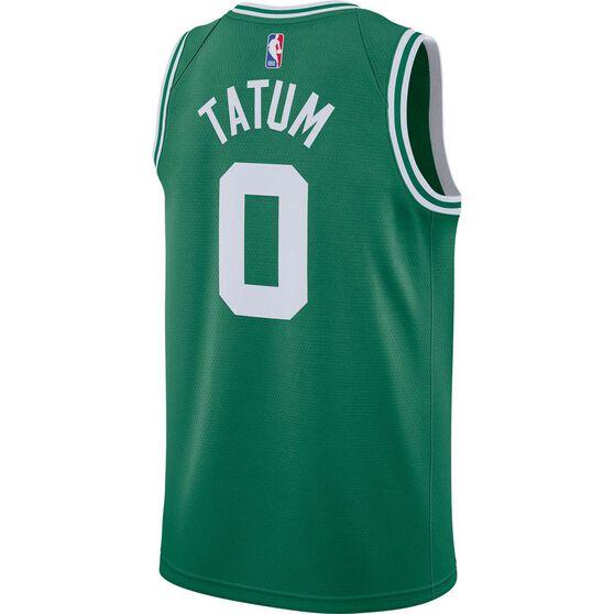 Nike Boston Celtics Jayson Tatum 2020/21 Mens Icon Edition Authentic Jersey, Green, rebel_hi-res
