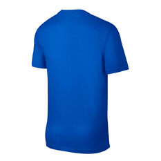 Nike Mens Sportswear Just Do It Tee Blue XS, Blue, rebel_hi-res