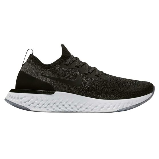 quality design b3624 a8d66 Nike Epic React Flyknit Womens Running Shoes, Black   White, rebel hi-res