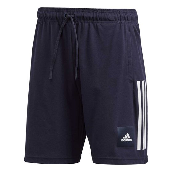 adidas Mens Must Haves Badge of Sport Shorts, Blue, rebel_hi-res