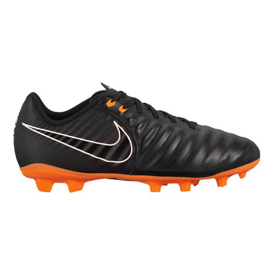 Nike Tiempo Legend VII Academy FG Junior Football Boots, Black / White, rebel_hi-res