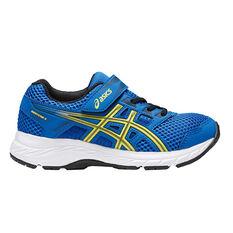 Asics Gel Contend 5 Kids Training Shoes Blue US 1, Blue, rebel_hi-res