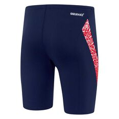 Speedo Mens Boom Jammer Navy / Red 14, Navy / Red, rebel_hi-res