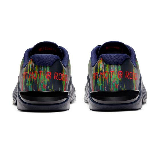 Nike Metcon 6 AMP Mens Training Shoes, Blue/Crimson, rebel_hi-res