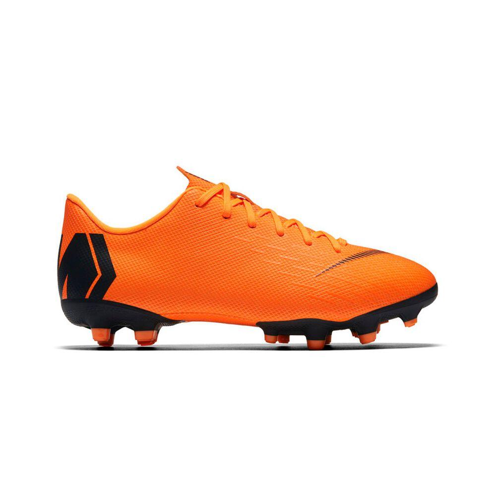 0c5989f4e Nike Mercurial Vapor VI Academy Kids Football Boots Orange   White US 5  Junior