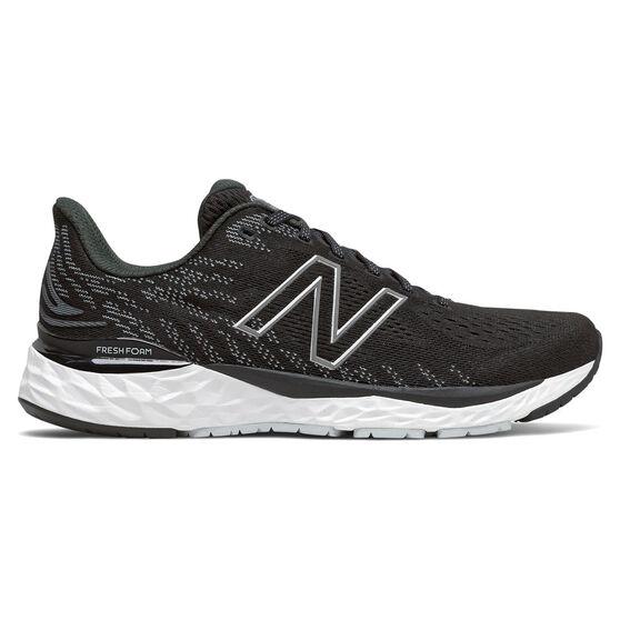 New Balance 880v11 Mens Running Shoes, Black/White, rebel_hi-res