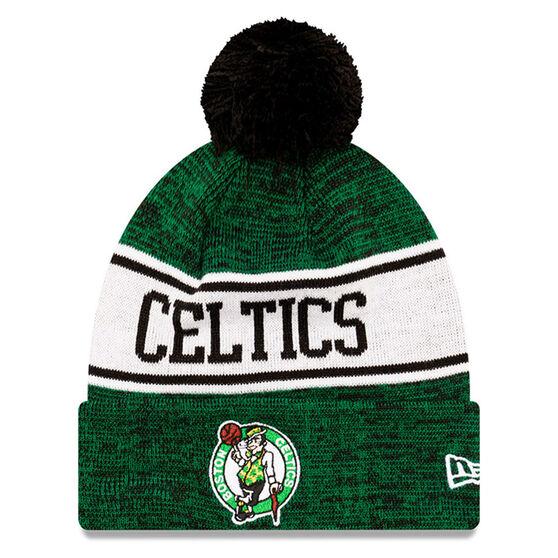 Boston Celtics New Era Pom Knit Beanie, , rebel_hi-res