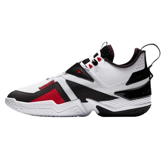 Jordan Westbrook One Take Mens Basketball Shoes White/Black US 8, White/Black, rebel_hi-res